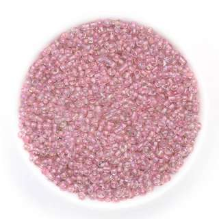 бисер розовый хамел. оптом