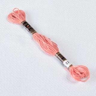 Мулине Bestex 224 8м, Розовых ракушек, очень светлый оптом