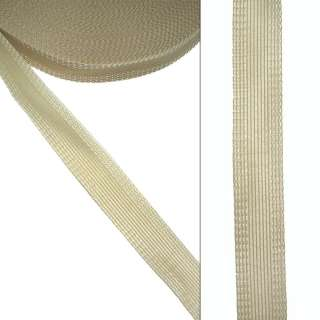 Клеевая для брюк 24мм бежевая оптом