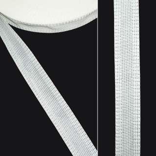 Клеевая для брюк 2,4 см белая оптом