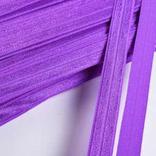 косая бейка стрейч фиолетовая 15 мм оптом