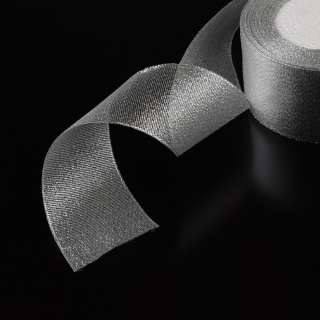 Лента серебро 40мм оптом