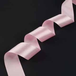 лента атласная 5см розовая светлая оптом