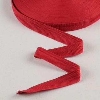 Лента киперная 20мм красная 18В10Г27 оптом