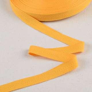 Лента киперная 20мм желтая 18В10Г27 оптом