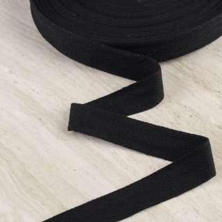 Лента киперная 30мм черная 18В17Г27 оптом