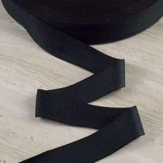 Лента киперная 40мм черная 15В43Г27 оптом