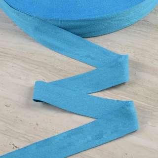 Лента киперная 40мм голубая 15В43Г27 оптом