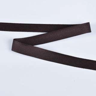 Стрічка брючна коричнева темна 15мм 14В13Г27 оптом