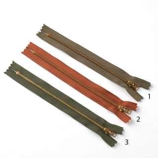 Молния металл М-18 Тип-3 неразъемная х/б в ассортименте оптом