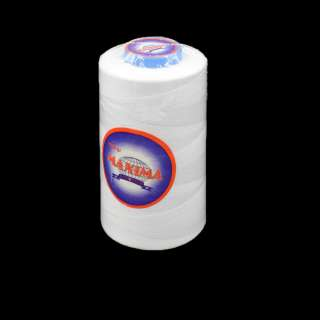Нитка MAXIMA 5000 ярдов №120 бобина белая оптом