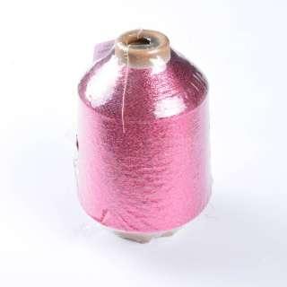 Нитка люрексова бобина рожева оптом
