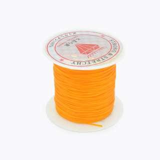 Нитка стрейч оранжевая оптом