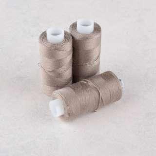 Нитки для джинсов 20/3 Омега-36 (150м) цвет 364 коричневые светлые оптом