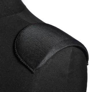 плечевые накладки черные поролон обшитые трикотажем 7*90*155 оптом
