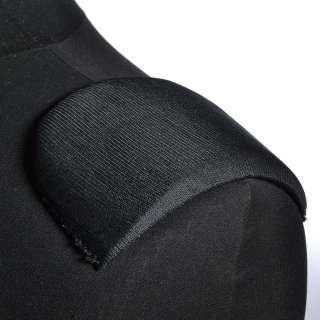 плечевые накладки черные поролон обтянутый трикотажем 10*95*140 оптом