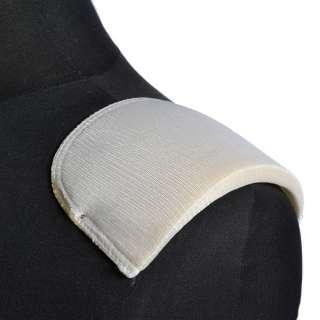 плечевые накладки белые поролон обтянутый трикотажем 12*120*155 оптом