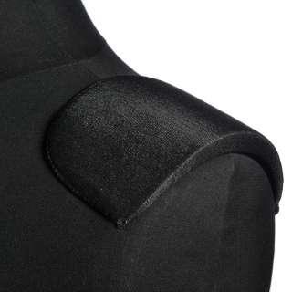 плечевые накладки черные поролон обшитый трикотажем 15*108*170 оптом