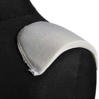 плечевые накладки белые поролон обтянутые трикотажем 11*100*170 оптом
