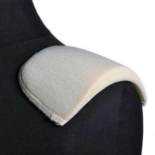 плечевые накладки белые поролон обтянутый трикотажем 14*108*180 оптом