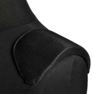плечевые накладки черные поролон обтянутый трикотажем 18*106*185 оптом
