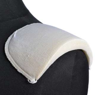 плечевые накладки белые поролон обшитый трикотажем 19*103*175 оптом