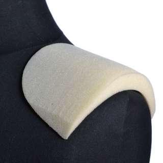 плечевые накладки белые поролон 20*125*180 оптом