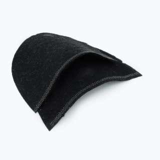 Плечевые накладки для трикотажных изделий из нетканного материала 3 слоя черные оптом