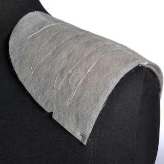 плечевые накладки для трикотажных изделий серые из нетканного материала  3 слоя оптом