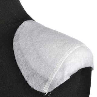 Плечевые накладки полуреглан нетканый материал 6 слоев 15х140х160 белые оптом