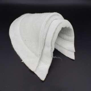 Плечевые накладки нетканный материал и бортовка 9 слоев 17х160х310 белые оптом