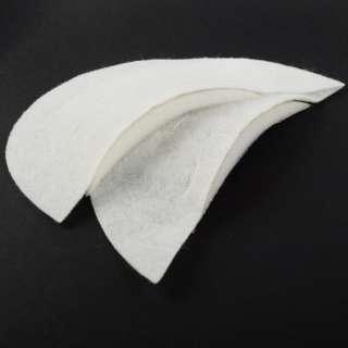 Плечевые накладки нетканный материал 85х193х80 белые (7051) (для женской одежды) оптом