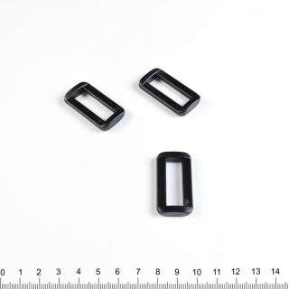 пряжка рамка 40*20 черная оптом