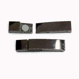 Пряжка металл разъемная магнитная 10мм 60х13мм никельтемный оптом