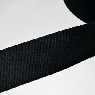 резинка  7 см черная оптом