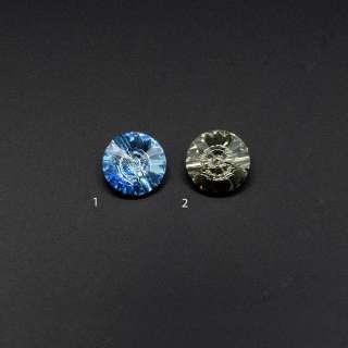 Кристалл пришивной круглый 2 цвета оптом