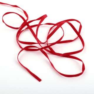 Шнур замшевый 3 мм красный оптом