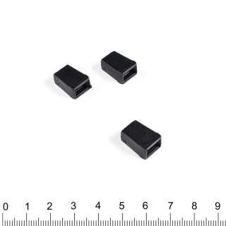 наконечник черный конус под шнур 4мм оптом