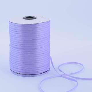 А1-01-021 атласная лента ш 0,3см сиреневая на метраж (в бобине 880яр/315г оптом