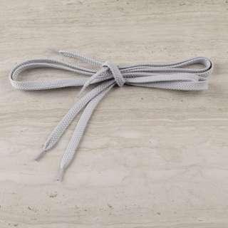 Шнурки взуттєві 1 пара 100см сірі оптом