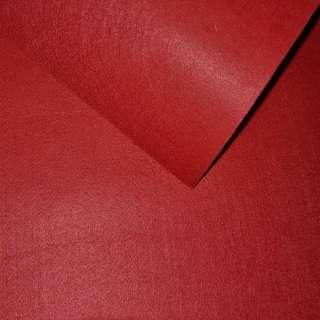 Фетр лист красный (0,9мм) 21х30см оптом