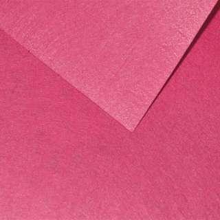 Фетр лист рожевий темний (0,9мм) 21х30см оптом