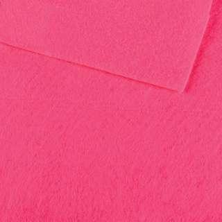 Фетр лист розовый яркий (0,9мм) 21х30см оптом