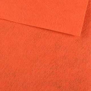 Фетр лист морковный (0,9мм) 21х30см оптом