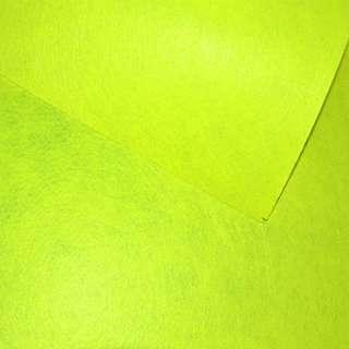 Фетр лист желтый неоновый (0,9мм) 21х30см оптом