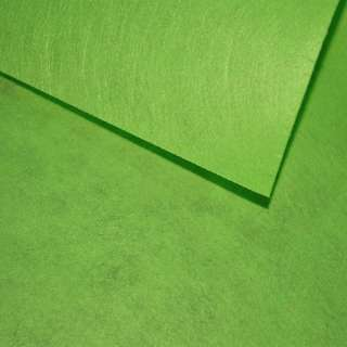 Фетр лист зеленый травяной (0,9мм) 21х30см оптом