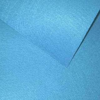Фетр лист голубой яркий (0,9мм) 21х30см оптом
