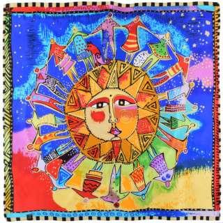 Хустка шовкова 85х87 см Хоровод навколо сонця (Лорел Берч) оптом