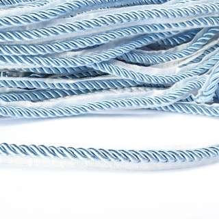 Кант-шнур блакитний, діаметр 0,9см, тасьма 1,5 см оптом