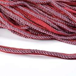 Кант-шнур сиреневый, диаметр 0,9см, тесьма 1,5см оптом